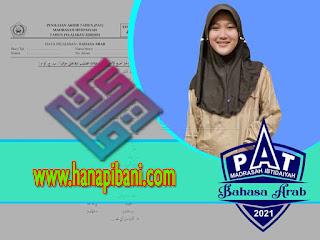 Kumpulan Soal + Kunci PAT Bahasa Arab MI Semester 2 Sesuai KMA 183