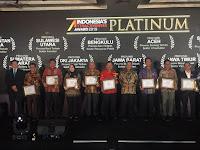 Provinsi Bengkulu Kembali Raih Penghargaan Platinum IAA 2019