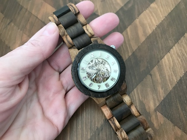 Beautiful Jord Wood Watch for Him, MyLove2Create