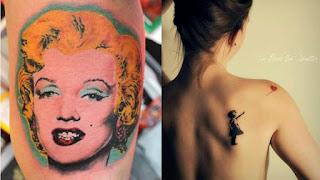 foto 6 de tattoos inspirados en obras de arte