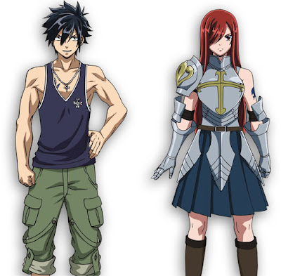 Fairy Tail Dragon Cry Character Designs