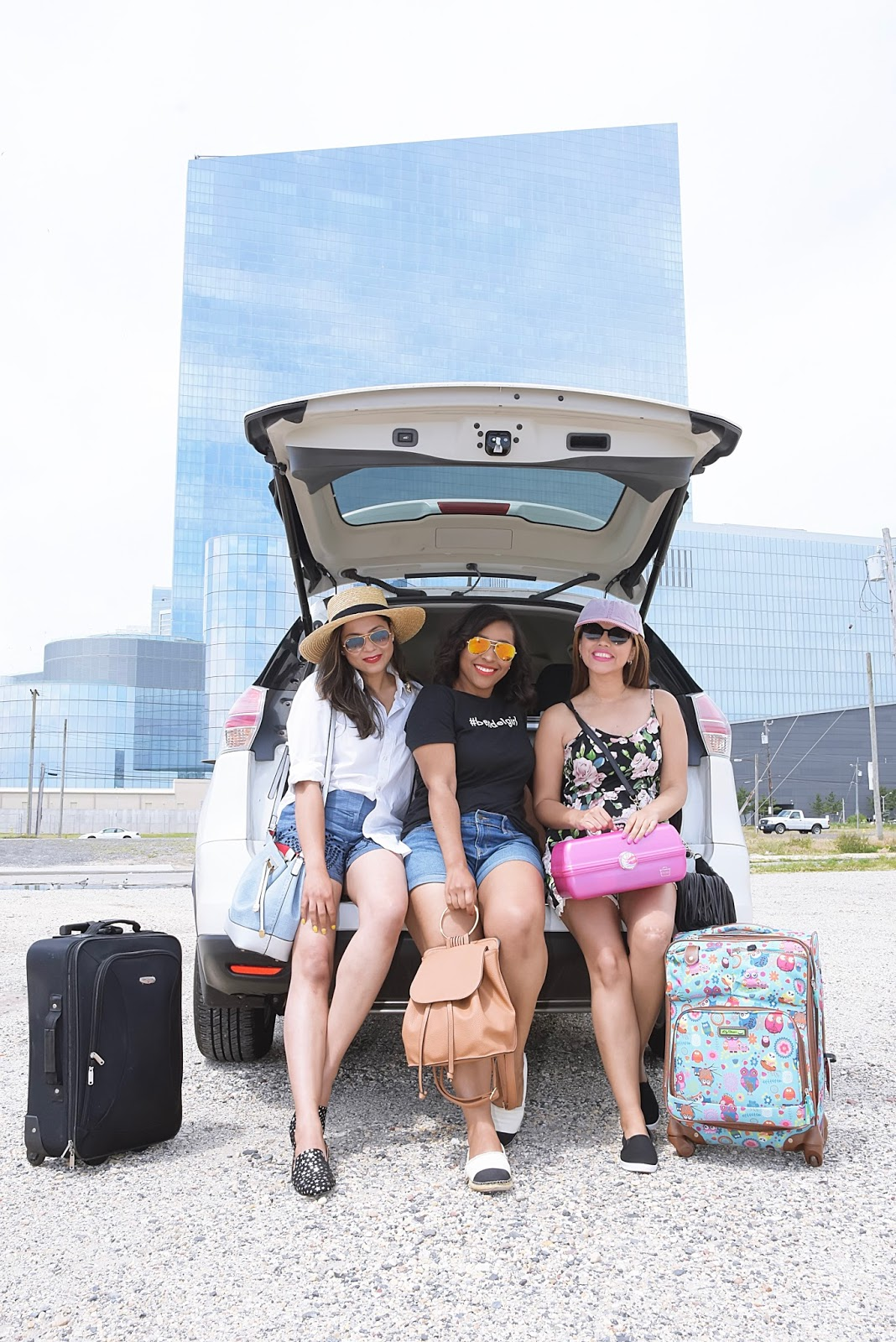 Lets Hit The Road! Essentials For Your Next Girls Road Trip, girls getaway, road trip, travel, travel blog, trip advisor, travel bloggers, luggage, nissan, suv, nissan rouge
