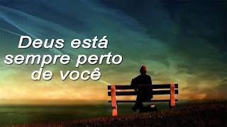 Palavra De Deus Voce não esta sozinho