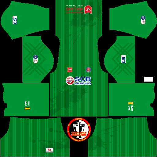 Kits Sài Gòn Football Club 2021 - Dream League Soccer 15 - FTS
