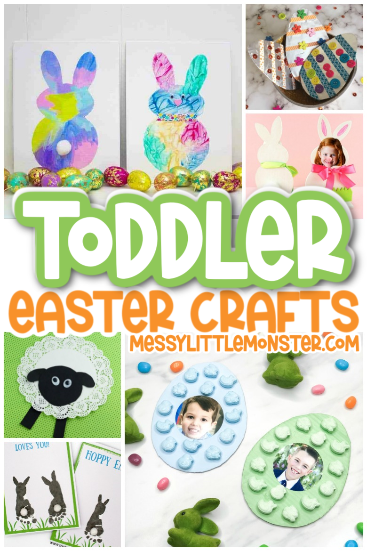 Toddler Easter crafts