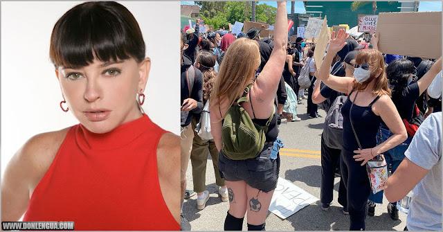 La Chaburra Mimi Lazo participa en las escaramuzas de los Estados Unidos