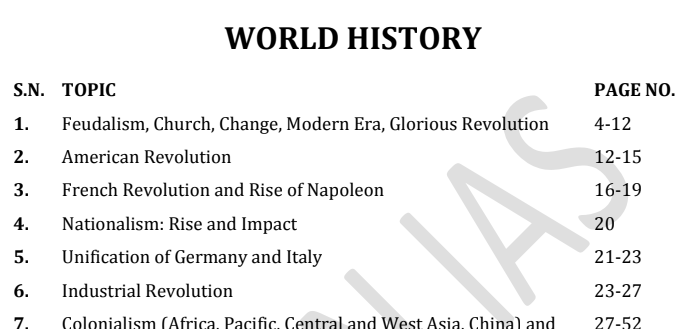 Vision IAS World History 2020 Notes PDF Download. World History Printed Notes pdf download. This is very useful for various exams like  SSC, Bank, IBPS, UPSC, RRB, FCI, LIC, Insurance and all other competitive exams