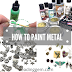 How to Color Metal | Experiments with Various Metal Paints | Inspirational Designs