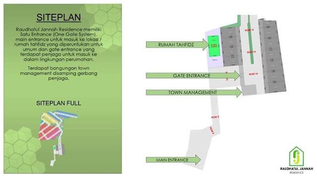 Raudhatul Jannah Residence , Perumahan syariah Bekasi Utara