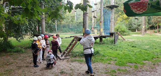 Park linowy dla dzieci