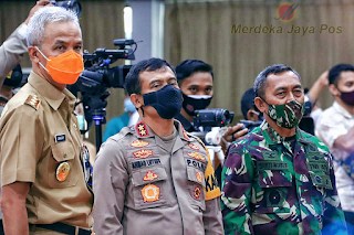 Polda Jateng:: Anjurkan Jelang Libur Panjang Selalu Gunakan Masker