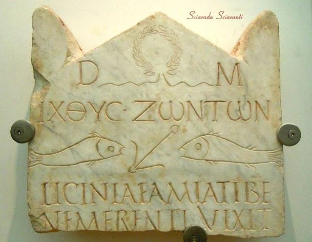 Stele funeraria di Licinia Amias - Museo delle Terme di Diocleziano - Roma