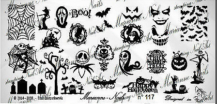 Lacquer Lockdown - Halloween, halloween nail art, halloween nail art stamping plates, nail art, nail art stamping ideas, holiday nail art, Marianne Nails, Nightmare Before Christmas, Jack The Pumpkin King, typography