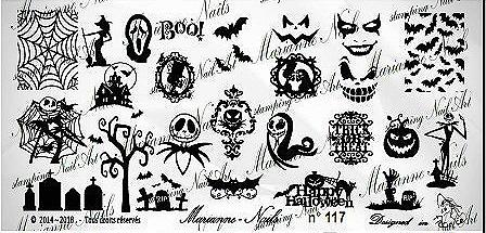 Lacquer Lockdown - Halloween, halloween nail art, halloween nail art stamping plates, nail art, nail art stamping ideas, holiday nail art, Marianne Nails, Nightmare Before Christmas, Jack The Pumpkin King, typography