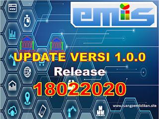 Update Aplikasi Feeder Emis Versi 1.0.0 terbaru