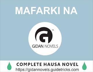 Mafarki na complete hausa novels