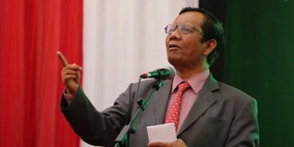 Ada Pelanggaran Protokol Kesehatan di Acara HRS, Mahfud Tunjuk Hidung Anies
