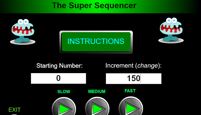 http://www.amblesideprimary.com/ambleweb/mentalmaths/supersequencer.html