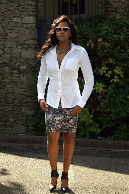 BYW - The White Blouse M6436