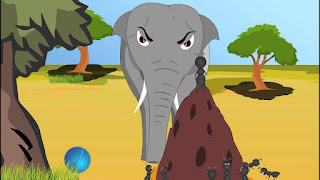 قصة الفيل والنملة قصص اطفال