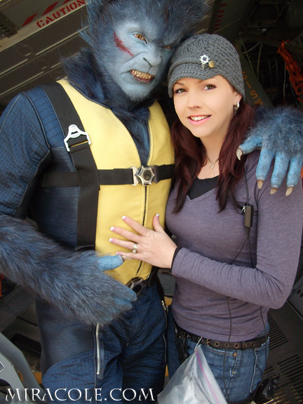 Behind-the-Scenes Pics of 'X-Men: First Class'