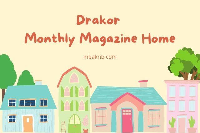 drakor monthly magazine home