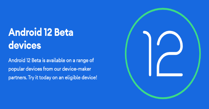 Android 12 Beta : Google's New Phone OS
