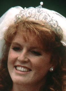 diamond tiara duchess york sarah garrard united kingdom