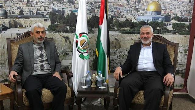 Hamas leader Gaza Yehiya Sinwar in Egypt for rare talks after spat