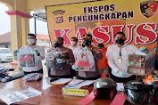 Polres Serang Kota Berhasil Amankan 5 Orang Tersangka Pelaku Pencurian dengan Modus Pecah Kaca Mobil