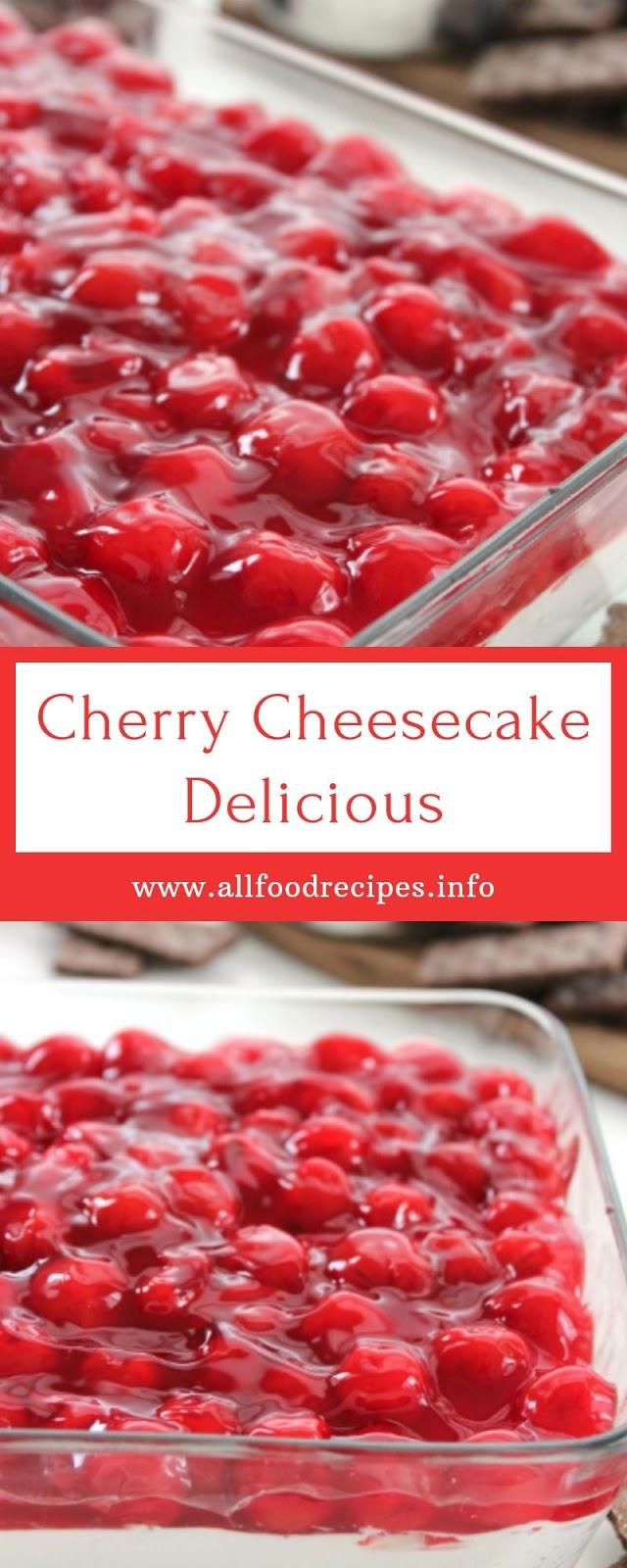 Cherry Cheesecake Delicious