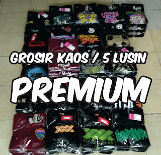 Grosir Kaos Distro Premium Bandung