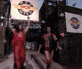 WCW HOG WILD 1996 REVIEW: The Outsiders faced Sting and Lex Luger