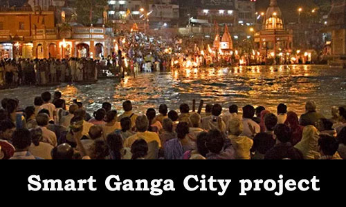 Smart Ganga City Under Namami Gange Project