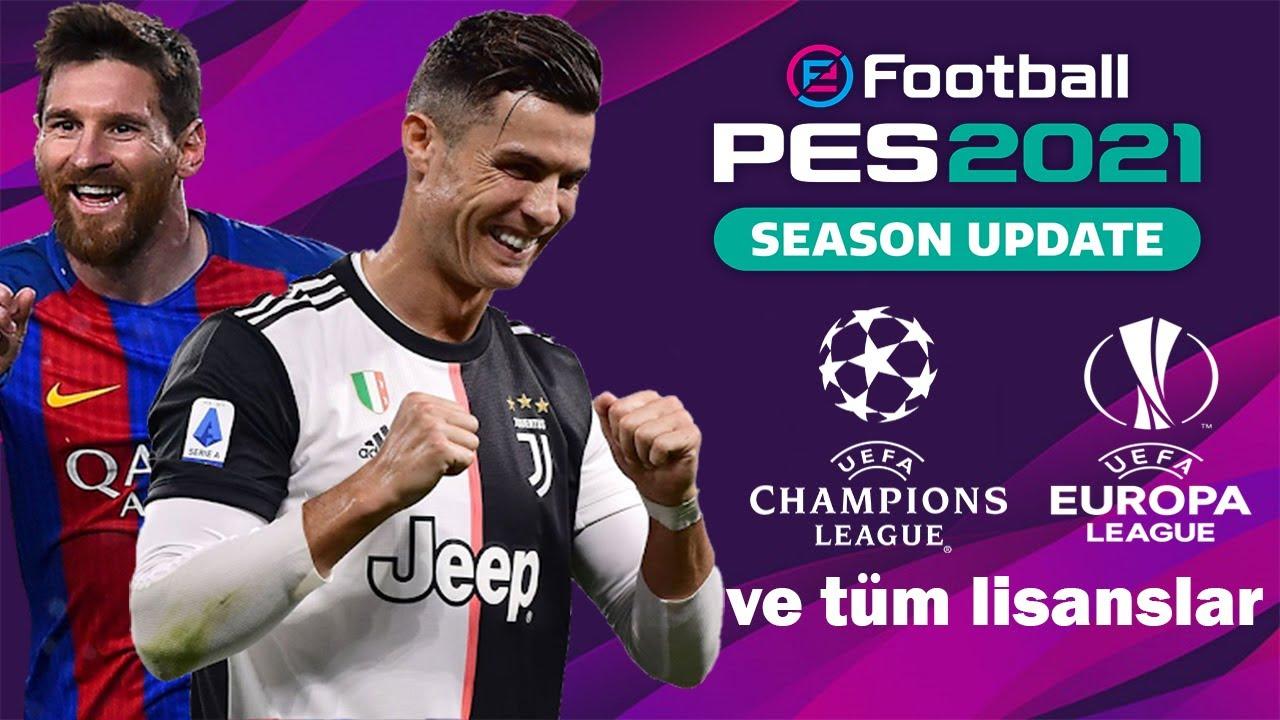 eFootball PES 2021 UEFA Şampiyonlar Ligi Modu - Kurulum