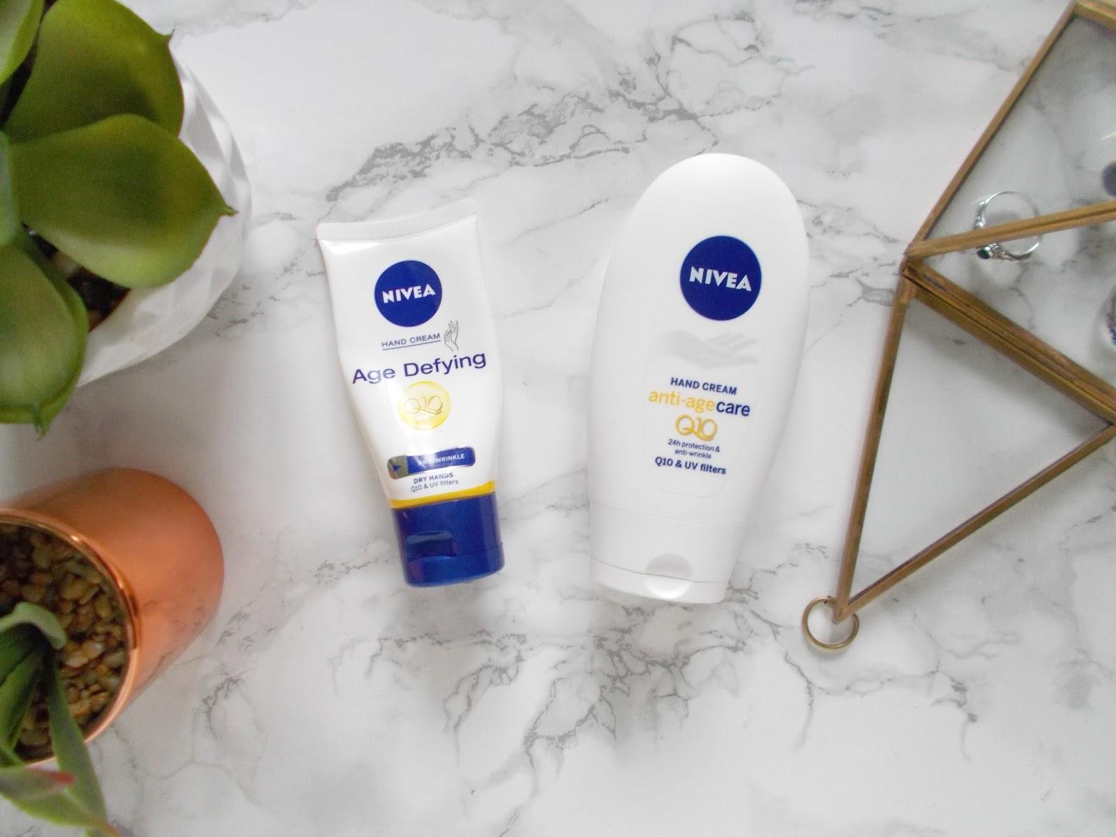 nivea anti age hand cream