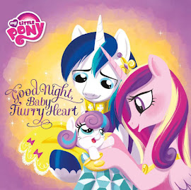 MLP Good Night Baby Flurry Heart Book Media