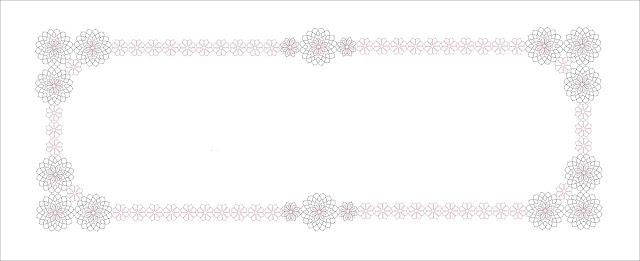 Motif 2 and tatting diagram for doilies - Motivo 2 e schema chiacchierino per centrini