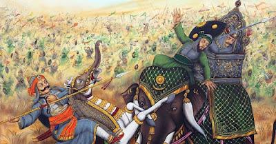 हल्दीघाटी की लड़ाई हल्दीघाटी में हुई ही नहीं थी
