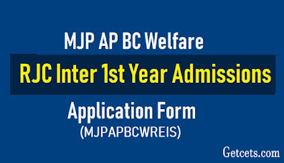 MJP ap bc rjc 2020 intermediate notification, apply online last date