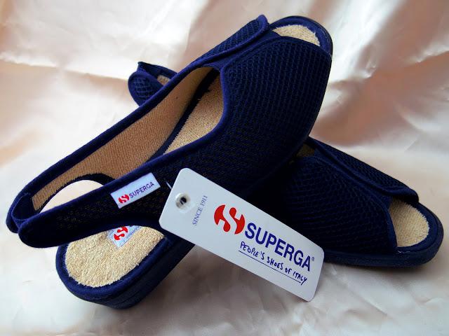 SUPERGAのレディーズ サンダル