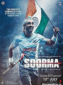 Soorma (2018) Full Movie Download 480p 720p 1080p