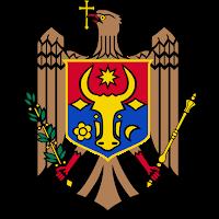 Logo Gambar Lambang Simbol Negara Moldova PNG JPG ukuran 200 px