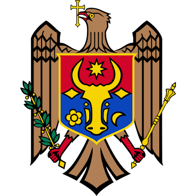 Coat of arms - Flags - Emblem - Logo Gambar Lambang, Simbol, Bendera Negara Moldova