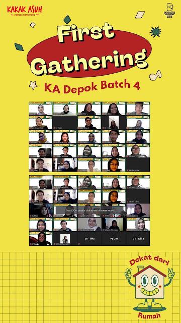 PRESS RELEASE : Laporan Kegiatan Gathering Kakak Asuh Depok Batch 4