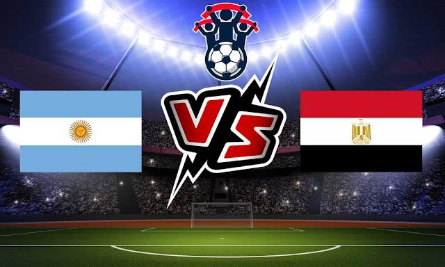 مصر والأرجنتين بث مباشر