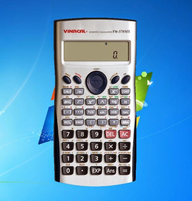 Scientific Calculator 570MS Free Download