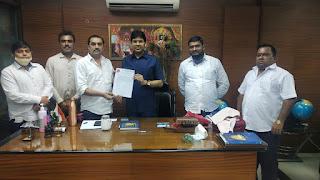 उत्तर भारतीय महासंघ के महाराष्ट्र उपाध्यक्ष बने संजय पांडे  | #NayaSaberaNetwork