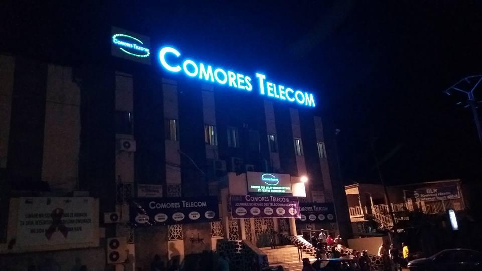 Comores télécom: Un prêt de 32 milliards pour opérationnaliser la fibre optique