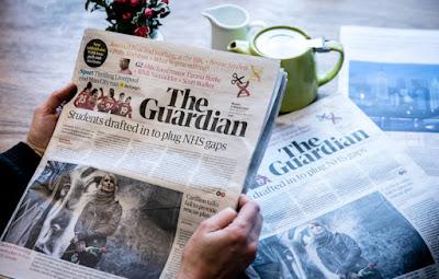 Νέα εποχή για την «The Guardian»: Αλλαγές σε εφημερίδα και ίντερνετ